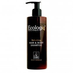 Ecologiq Hair & Body Shampoo 300ml Ecolabel