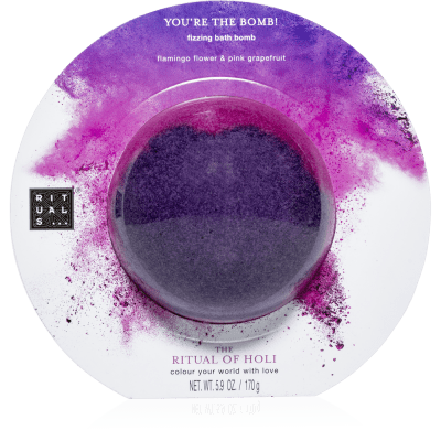 The Ritual of Holi - Fizzing Bath Bomb