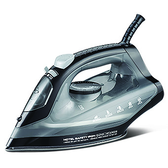 Emberton Hertford, Steam iron 1600W, Svart
